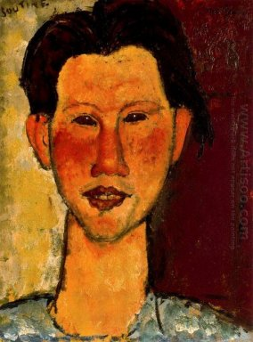 portrait of chaim soutine 1915