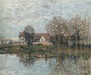 banks of the seine at port marly 1875