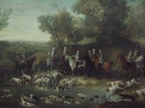 Louis XV Hunting Deer in the Saint-Germain Forest