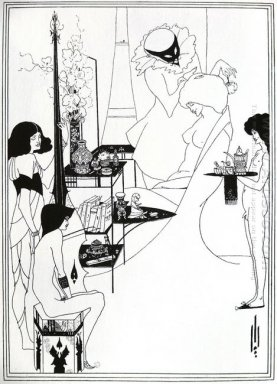 the toilette of salome