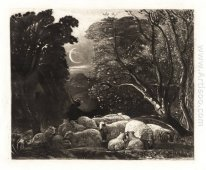 Evening, engraved by Welby Sherman