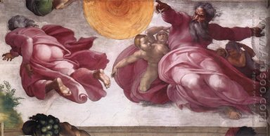 Creation of the Sun, Moon, and Plants 1511