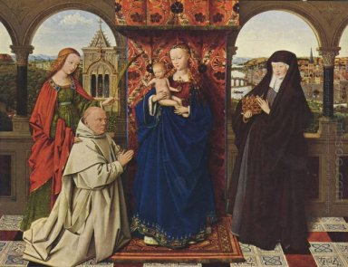 Virgin And Child With Saints And Donor 1441