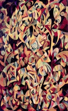 dance an objectless composition 1915