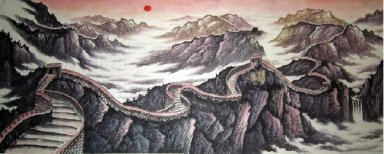 The Great Wall - Chinese Painting