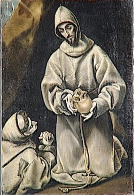 St Francis and Brother Leo Meditating on Death 1600-02