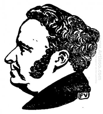 Portrait Of French Writer Stendhal 1897 1
