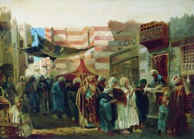Oriental Funeral In Cairo