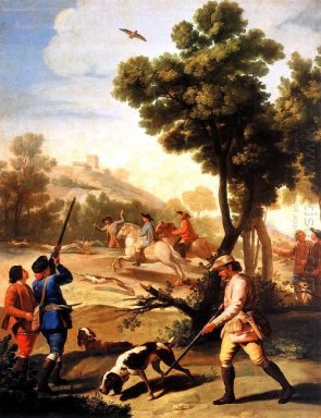 The Quail Shoot 1775