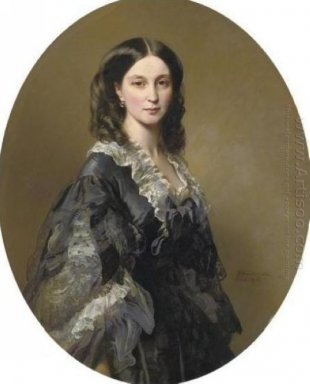 Portrait Of Princess Elizaveta Alexandrovna Tchernicheva 1