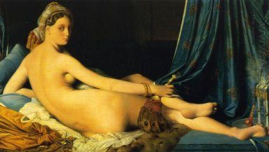 The Grande Odalisque 1814