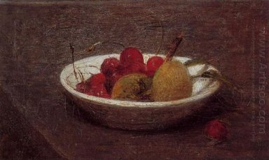 Still Life Of Cherries And Almonds 1870