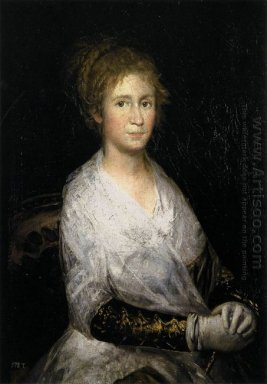 Portrait Thought To Be Josepha Bayeu Or Leocadia Weiss