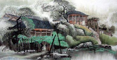Building - Chinese Painting