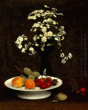 Still Life With Flowers 1864