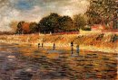 The Banks Of The Seine 1887