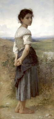 The Young Shepherdess, 1885