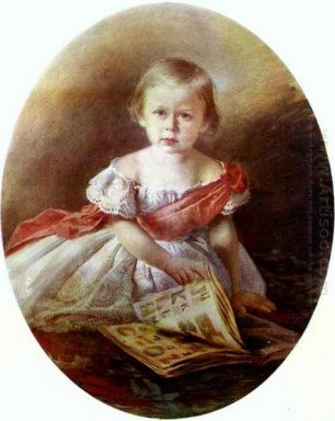 Portrait Of A Girl 1870