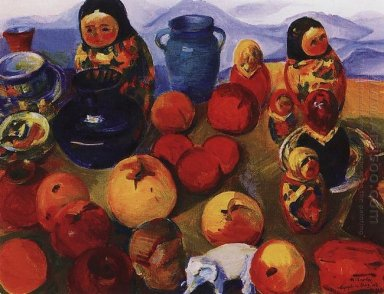 Still Life With Matryoshka Dolls 1965