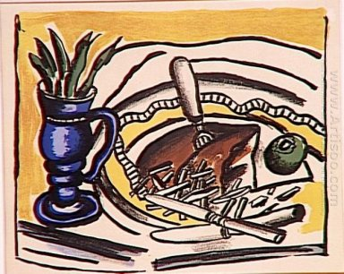 Still Life With Blue Vase The Roosbeef 1951