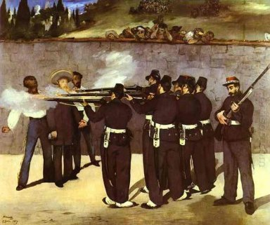 the execution of the emperor maximilian of mexico 1868