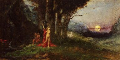 Pasiphae And The Bul 1880
