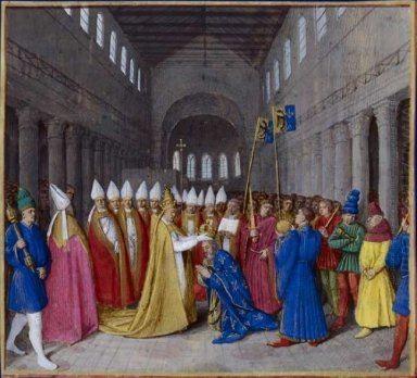 Coronation Of Charlemagne 1460