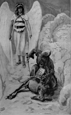 Balaam And The Ass As In Numbers 1900