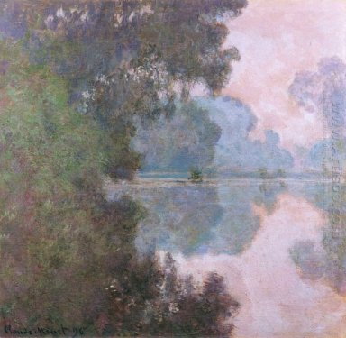 Morning On The Seine Near Giverny 1