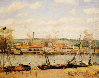 view of the cotton mill at oissel near rouen 1898