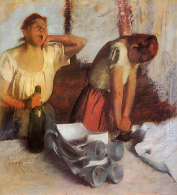 laundry girls ironing 1884 1