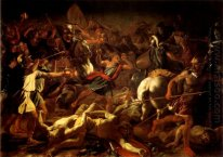 Battle Of Gideon Contro Il Madianiti 1626