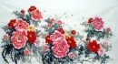 Peony-Six feet(large) - Chinese Painting