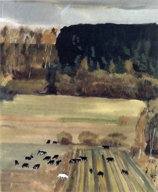 landscape with a herd 1934