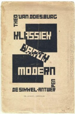 Cover Of Classic Modern Baroque 1920