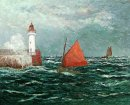 Back To Fishing Boats In Belle Isle En Mer 1910