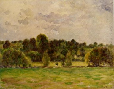 eragny twilight 1890