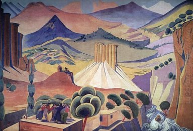 The Curtain Of The State Drama Theater Of Armenia 1923