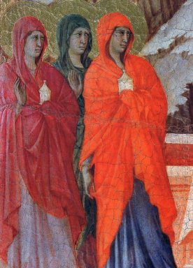 The Three Marys At The Tomb Fragment 1311