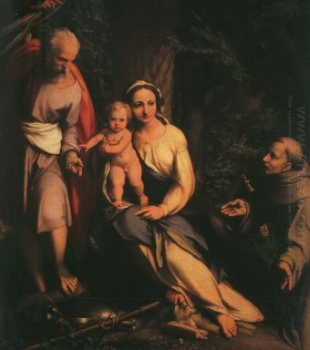 The Rest On The Flight To Egypt With Saint Francis 1517