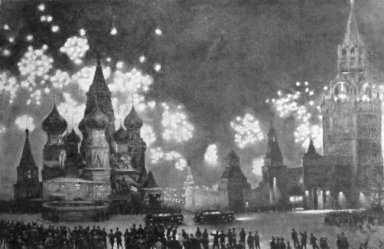 Moscow Salutes 1945