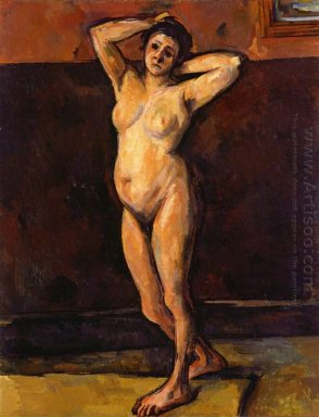 Nude Woman Standing 1899