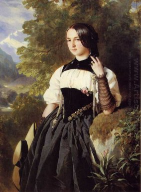 A Swiss Girl From Interlaken