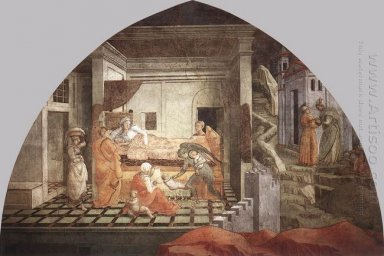 The Birth And Infancy Of St Stephen