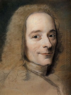 Preparation To The Portrait Of Voltaire 1