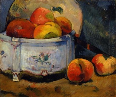 still life with peaches 1889