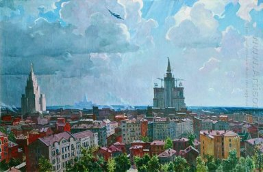 moscow landscape 1952