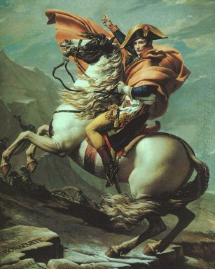 Napoleoncrossing The Alps At The St Bernard Pass 20Th May 1800 1