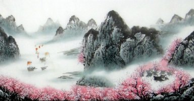 Plum flowers - Chinese Painting