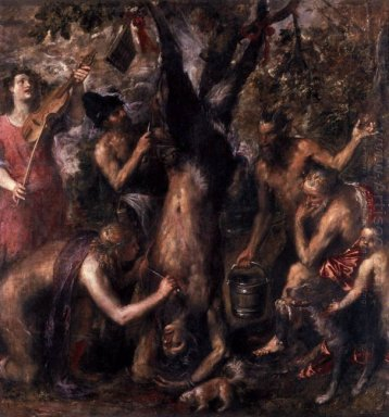 The Flaying of Marsyas 1575-76